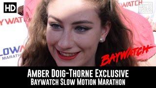 Amber Doig-Thorne Exclusive - Baywatch Slow Mo Marathon
