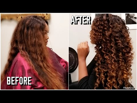 HOW I GET PERFECT, BOUNCY WAND CURLS TUTORIAL | SUMMER 2019 HAIR | LEE STAFFORD CHOPSTICK CURLER