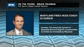 Bruce Feldman on the Firing of Durkin & Impact on Maryland