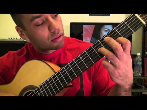 John Blaze - Aaliyah GUITAR LESSON Tutorial (Esteban Dias)