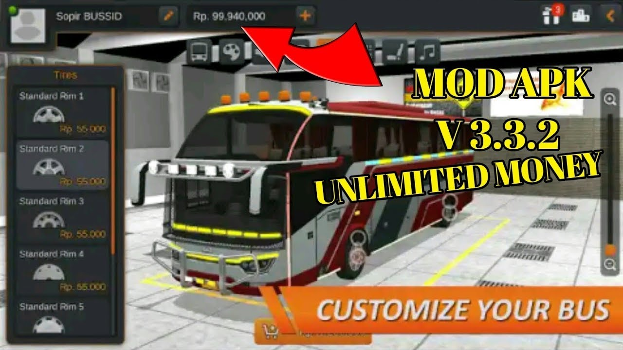 Bus Simulator Indonesia Latest Mod Apk Version 3 3 2 Unlimited Money Unlimited Everything Youtube