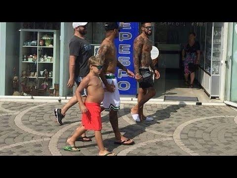 Neymar com seu filho Davi Lucca 😍