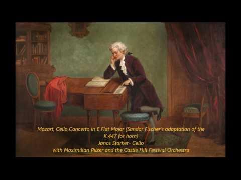 Mozart, Cello Concerto in E Flat Major K.447 (Starker)