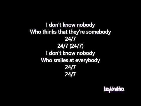 Kehlani - 24/7 {Lyrics}