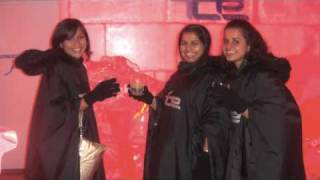 MissMalini @ The Ice Bar in Delhi!