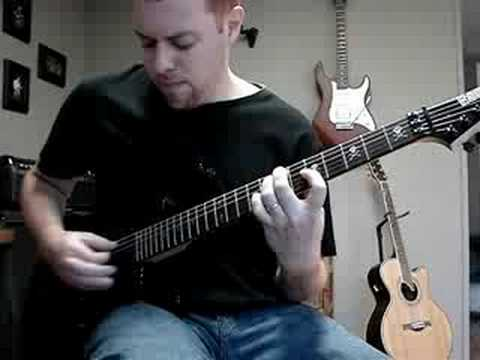 All That Remains - Not Alone (guitar cover)