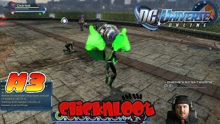 DC Universe Online Gameplay German #3 RATTTATTTATTT macht die Minigun