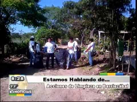 Sección Nuestra BIOSFERA: Limpieza panteón Berriozabal