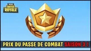 SEASON 3 COMBAT PASS PRIZE! (Fortnite Battle Royale)