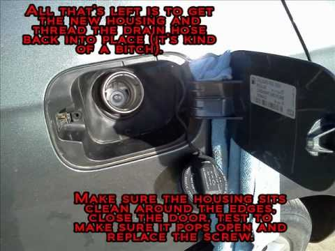 Replace Jetta Fuel Door Youtube