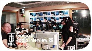 GoGoJiLL  Radio Interview RRI Pro 2 Jakarta Part 1