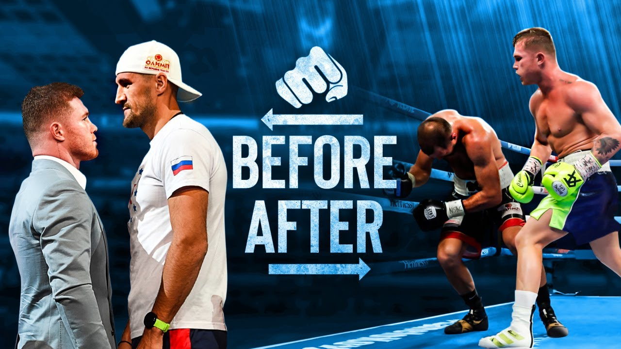 BEFORE and AFTER Fighting Canelo Alvarez