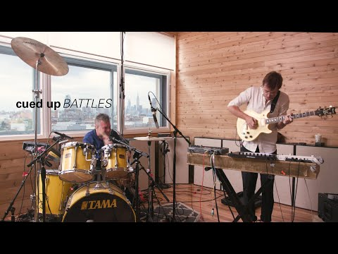 """BATTLES performs """"Titanium 2 Step"""" and """"Fort Greene Park"""" Live in Brooklyn 