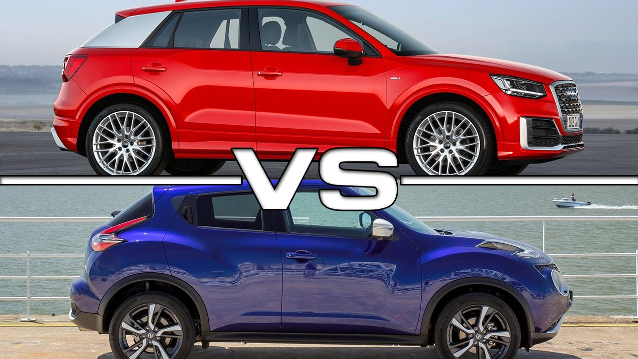 audi q2 vs nissan juke road test youtube. Black Bedroom Furniture Sets. Home Design Ideas
