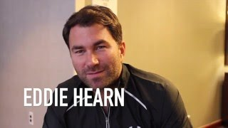 EDDIE HEARN -'WEVE GOT BADOU JACK SURROUNDED!!' TALKS DeGALE, JACK, SMITH, BELLEW, CROLLA & MORE!!
