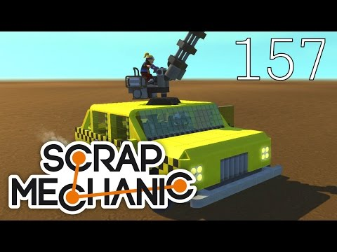 Scrap Mechanic [#157] Halo? TAXI! Warsztat Steam!