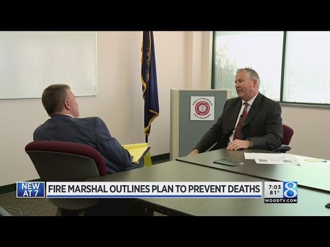 New state fire marshal looks west to cut fire deaths