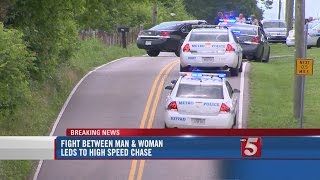 2 In Custody After Domestic Argument, Pursuit In Nashville