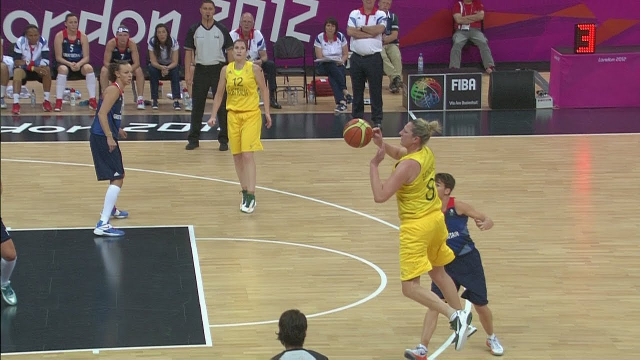 Basketball Women's Group B - Australia v Great Britain Full Replay -- London 2012 Olympic Games