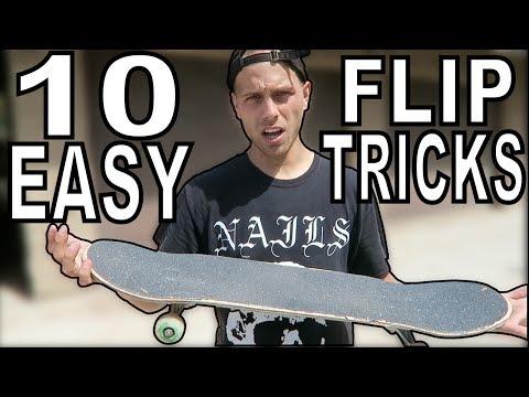 10 EASY FLIP TRICKS FOR BEGINNERS
