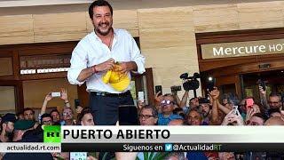 España acepta el barco de migrantes rechazado por Italia y Malta