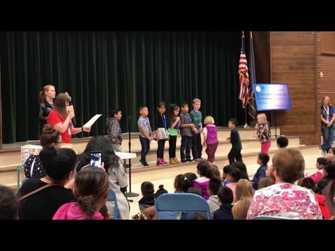 Rolling Meadows Elementary School kindergarten & 1st grade blink day