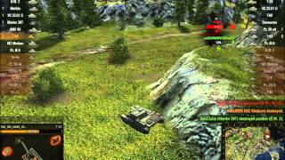 World of Tanks - Gameplay - T-80 - Top Gun denied