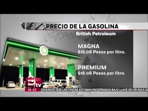 Conoce los precios de British Petroleum en su gasolinera de Naucalpan