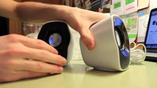 Logitech Z120 USB Speakers Unboxing
