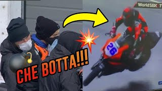 What NOT to do on a wet ground... | WSBK Vlog06 | [SUB: Eng.]