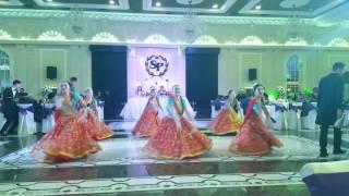 """Танцевальная группа Агат. Индийский Танец """"Гарба"""". Бишкек."""
