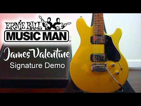 Ernie Ball Music Man VALENTINE 2018 Demo - Cooper Carter