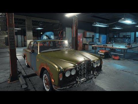 Car Mechanics Simulator 2018 Bentley T Series Engine Repair