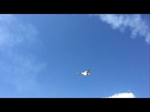 Thunderbirds Second Sneak Pass Pensacola NAS