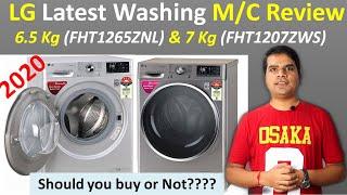 LG Washing Machine latest model 2020 Front Load  LG 6.5 Kg (FHT1265ZNL) & LG 7 Kg (FHT1207ZWS)