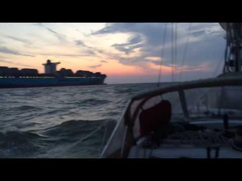 Tioga - Transatlantic - Alexander Vogel Sailing Cowes to Kiel 2015 klein