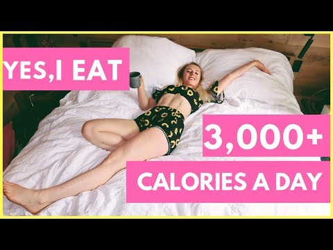 Eating 3000+ calories for weight loss // let's talk calories!