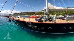 Charter LE PIETRE luxury gulet CROATIA sailing yacht Split Dubrovnik location voilier luxe Croatie