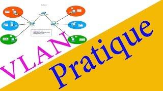 Configuration des VLANs -Pratique- En Darija