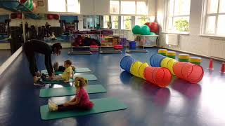 Детский фитнес(3-4 года)