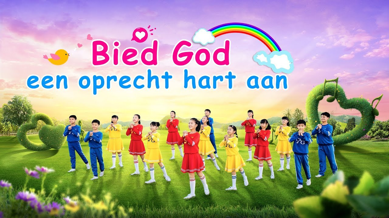 Christelijk lied 'Bied God een oprecht hart aan'   Dans video