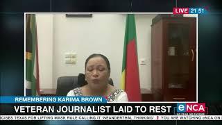 Karima Brown Remembered