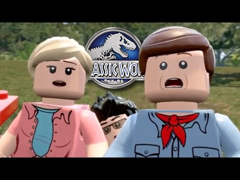 FULL JURASSIC PARK!! - Lego Jurassic World    iOS/Android HD