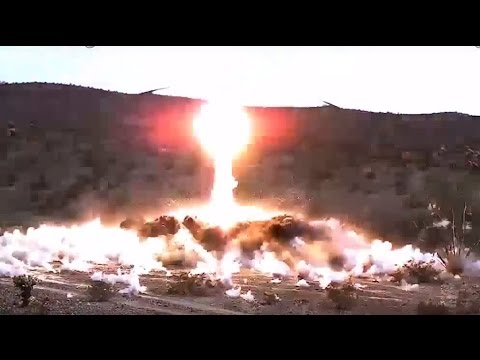Raytheon - Excalibur Ib Precision-Guided Artillery Projectile Completes Qualification Tests [720p]