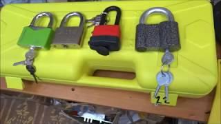 Обзор гидравлических ножниц - кусачек тест на прочность навесных замков