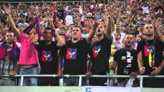 Steaua - Legia 1:1 atmosfera 21.08.2013