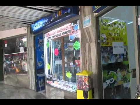 Shopping Centro Plaza in La Mariscal of Quito Ecuador