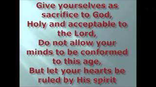 WE BELONG TO GOD
