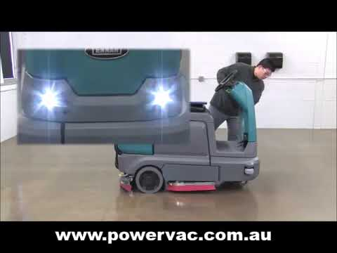 Tennant T12 Operator Training Video from PowerVac