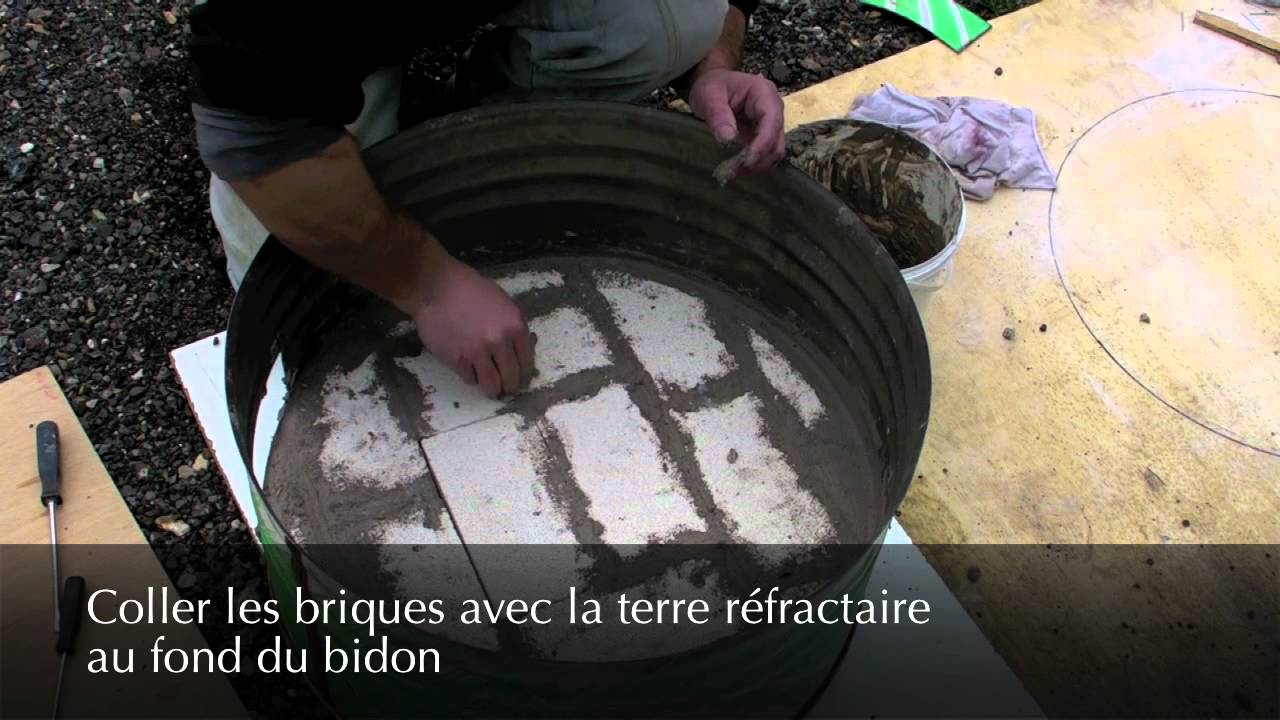Construction du four bidon youtube - Fabriquer un barbecue avec un bidon ...